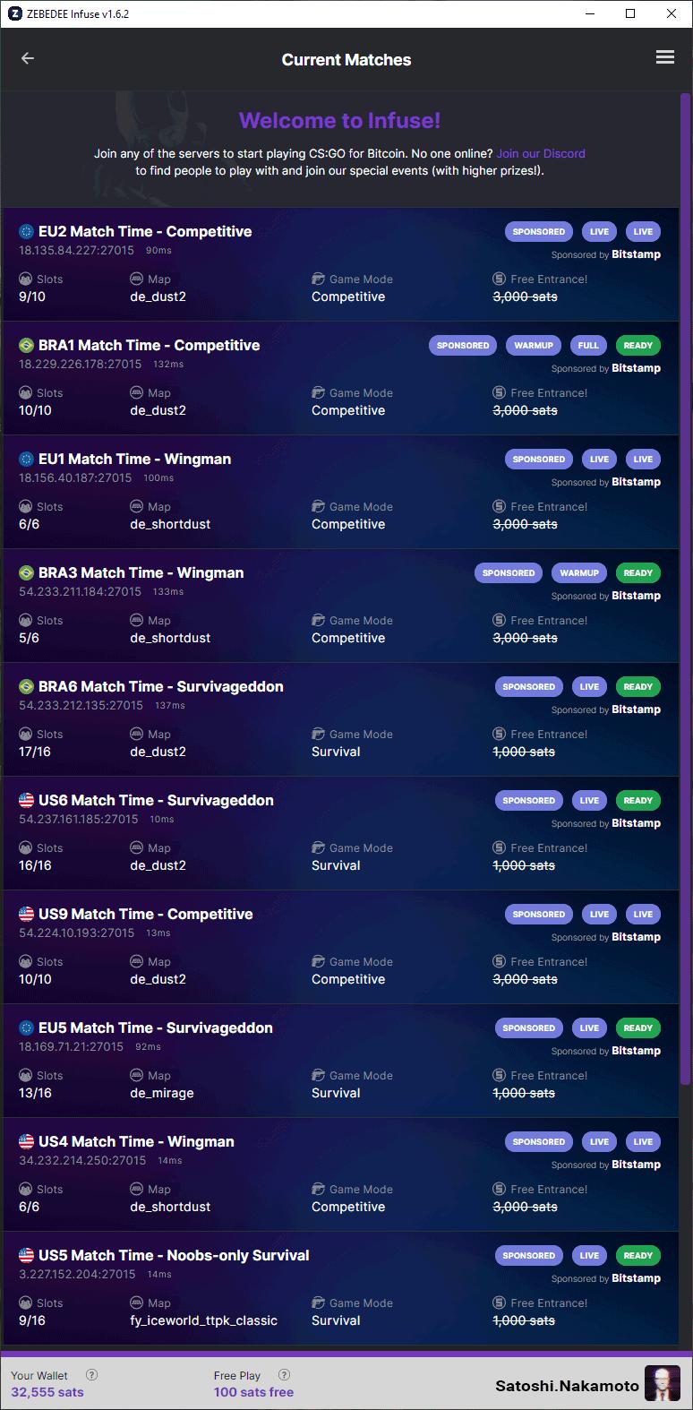 CS:GO servers – join sponsored servers for free