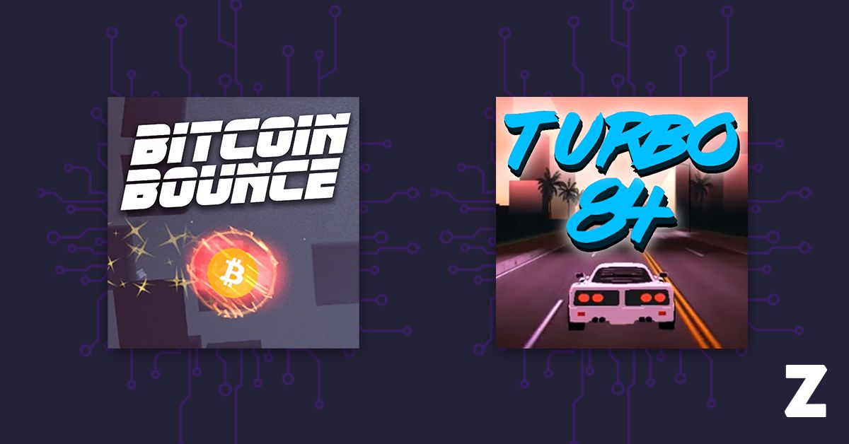 Bitcoin Bounce and Turbo 84 by THNDR Games