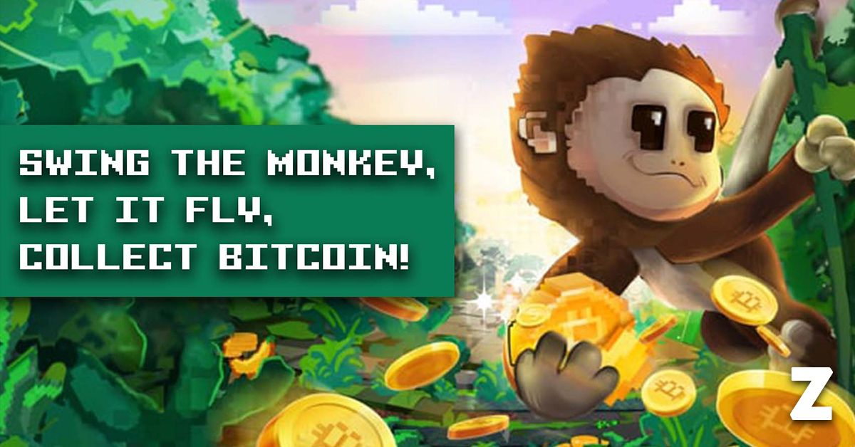 SaruTobi – Swing the monkey, let it fly and collect Bitcoin
